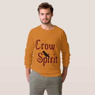 Crow Spirit Men's Raglan Sweatshirt