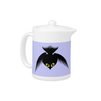 Crow Teapot