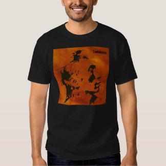 "Crow warrior tee shirt entitled ""Confidence"""