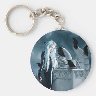 Crow Witch Keychain