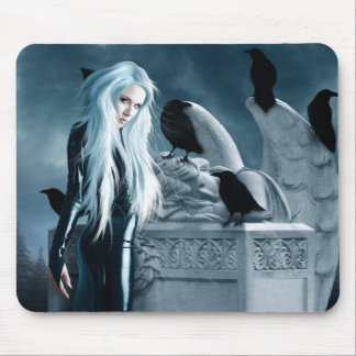 Crow Witch Mousepad