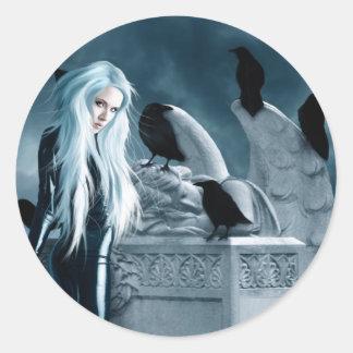 Crow Witch Sticker