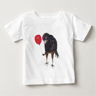CROW WITH BALLOON BABY T-Shirt