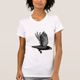 Crow With Heart T-Shirt