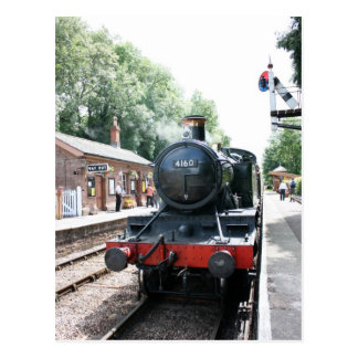 Crowcombe Heathfield station, WS Railway Postcard