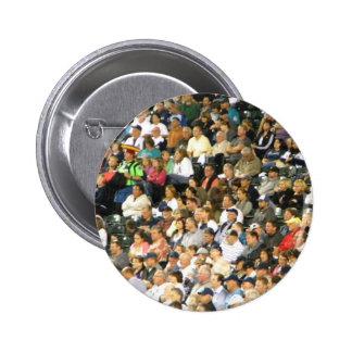 Crowd 6 Cm Round Badge