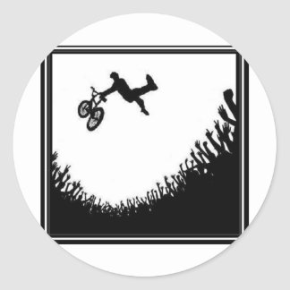 CROWD BMX CLASSIC ROUND STICKER