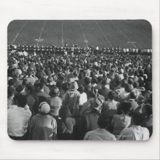 Crowd in stadium mouse pad