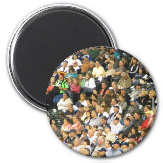 Crowd Fridge Magnet