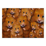 Crowd of Cute Hamsters: Original Art