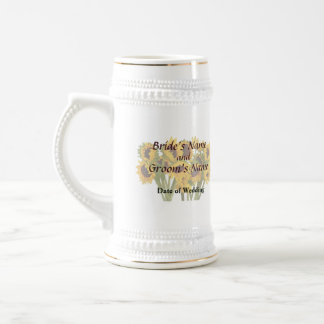 Crowd of Sunflowers Wedding Products Mugs