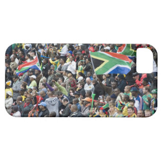 Crowd shot at a soccer game, with South African Case For The iPhone 5