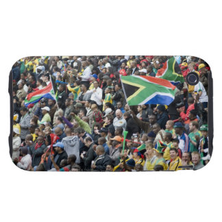 Crowd shot at a soccer game, with South African Tough iPhone 3 Cover