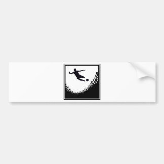 CROWD SOCCER BUMPER STICKER