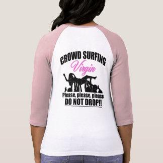 Crowd Surfing Virgin (blk) T-Shirt
