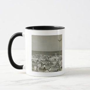 Crowded Beach Mug