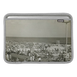 Crowded Beach Sleeve For MacBook Air