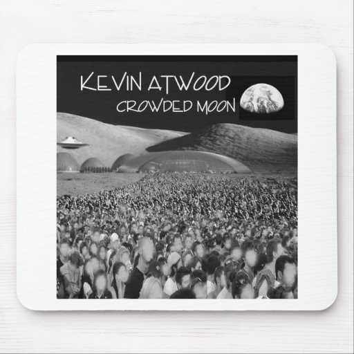Crowded Moon Products Mousepads