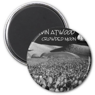 Crowded Moon Products Refrigerator Magnets