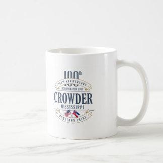 Crowder, Mississippi 100th Anniversary Mug