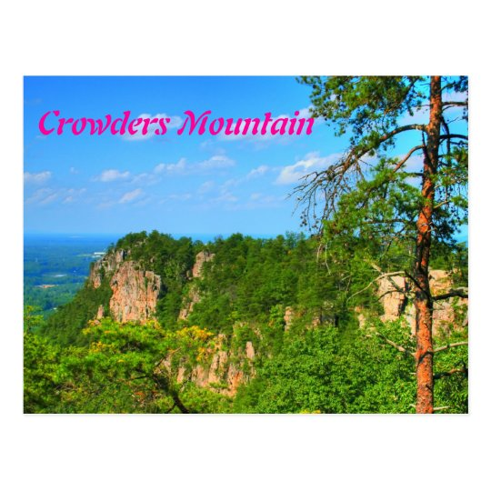 Crowders Mountain Postcard
