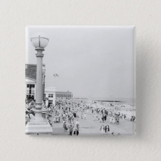 Crowds 2 15 cm square badge