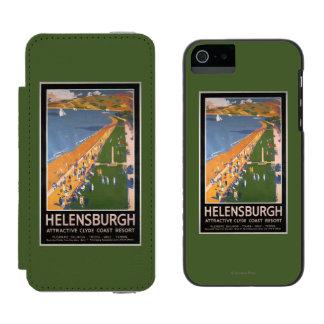 Crowds along Clyde Coast Beach Railways Poster Incipio Watson™ iPhone 5 Wallet Case