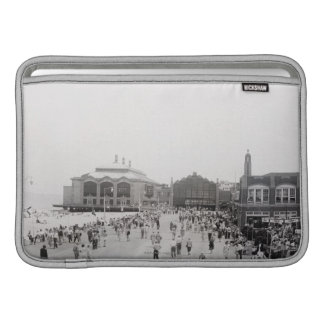 Crowds MacBook Sleeve