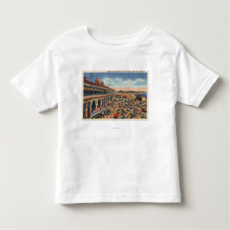 Crowds on the Beach in Front of Casino Toddler T-Shirt