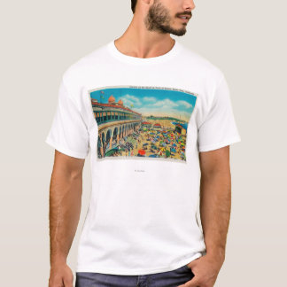 Crowds on the Beach in front of the Casino T-Shirt