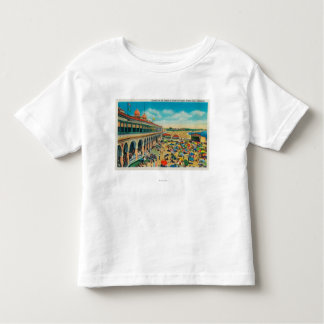 Crowds on the Beach in front of the Casino Toddler T-Shirt