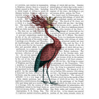 Crowed Marsala Heron Postcard