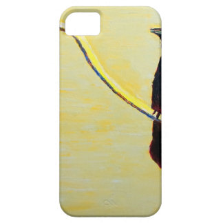 Crowing Crow on a Light Pole iPhone 5 Cover
