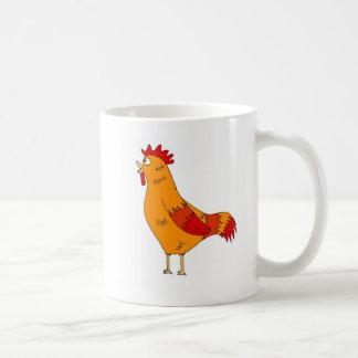 Crowing Rooster Mug