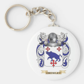 Crowley Coat of Arms Key Chains