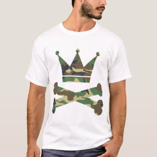 Crown and Bones Camo T shirt