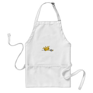 CROWN AND SCEPTER STANDARD APRON