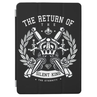 Crown and Swords The Return of the Silent King iPad Air Cover