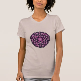 Crown Chakra Balance Women's American Apparel T T-Shirt