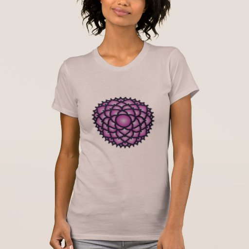 Crown Chakra Balance Women's American Apparel T T-shirts