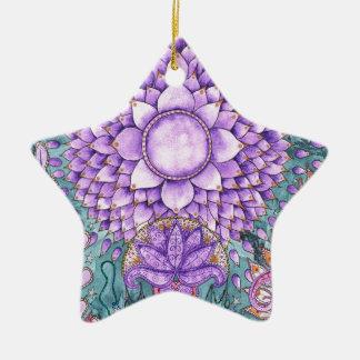 Crown Chakra Inspirational Design Christmas Ornament