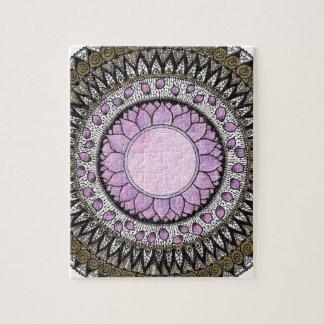 Crown Chakra Mandala Jigsaw Puzzle