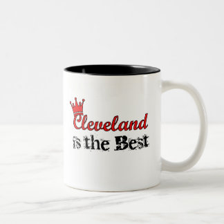 Crown Cleveland Two-Tone Coffee Mug