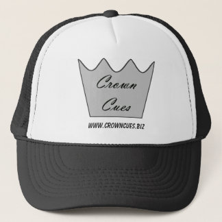 Crown Cues Baseball or Trucker's Hat