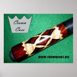 Crown Cues Poster