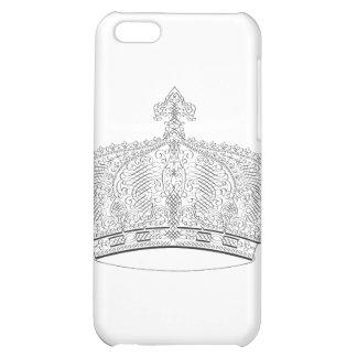 Crown Design iPhone 5C Cover
