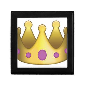 Crown emoji gift box