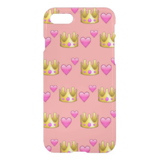 Crown Emoji iPhone 7 Clearly™ Case