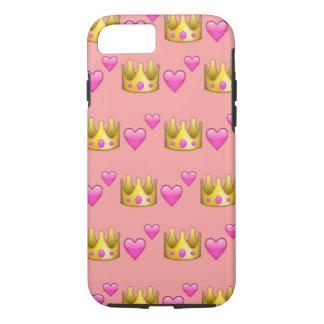Crown Emoji iPhone 7 Phone Case