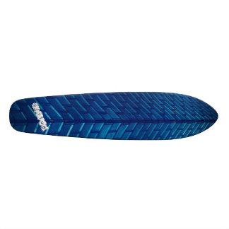 Crown Fountain Blue Brick Skateboard
